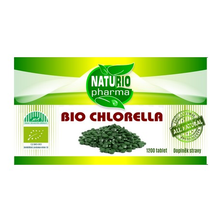 Bio Chlorella 1200 tab.