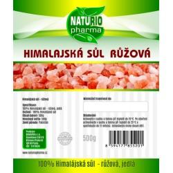 Himalájska soľ - ružová Premium 500g
