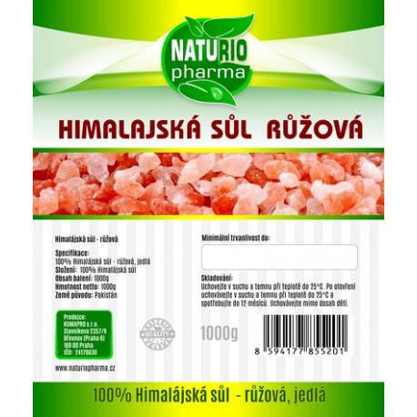Himalayan salt - pink Premium 1000g