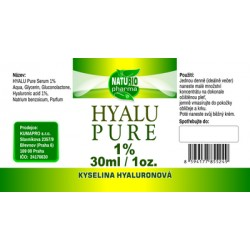 Hyaluronic acid pure 1% 30ml