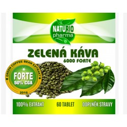 Green Coffee FORTE 6000 - 60 tabliet