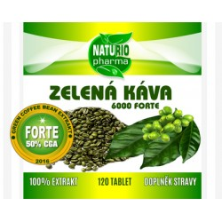 Green Coffee FORTE 6000 - 120 tablet
