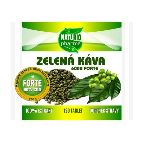 Green Coffee FORTE 6000 - 120 tablets